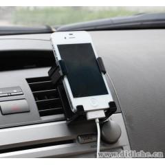 舜威新品 车载手机架出风口车用支架iphone4s小米三星汽车手机座
