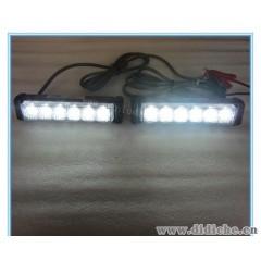 LED中网灯/6LED爆闪灯/汽车装饰灯/频闪棍子灯/大功率车用日行灯