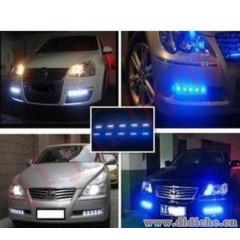 5050贴片灯 日行灯 汽车LED灯条 装饰灯 日间行车灯 软灯带5段