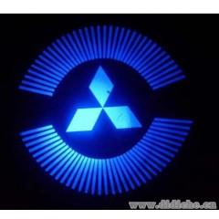 汽车装饰灯 LED镭射灯 车门迎宾灯 迎宾激光投射灯 车门照地灯