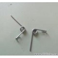 专业生产电池片弹簧片 纽扣电池弹片 电池簧片 电池盒弹簧片 管夹