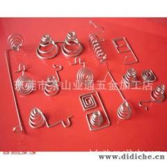 批量銷售 led燈具彈簧彈片 銹鋼扣簧