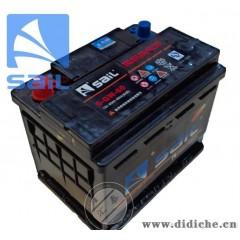 【风帆蓄电池】55D26L免维护蓄电池 60AH铅酸蓄电池