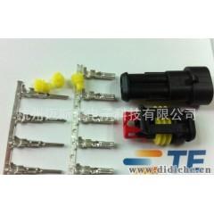 代理AMP 泰科Tyco282104-1 282103-1系列汽车防水连接器现货供应