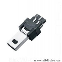 供应MINI USB连接器 MINI USB 8P连接器(质优价平)