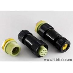 高精密 防腐蚀  6芯防水公、母连接器  5A