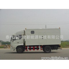 50kw移动拖车电站_移动式发电机组_汽车发电机组