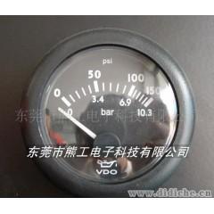 供应VDO 机油压力表 发电机仪表 汽车改装仪表