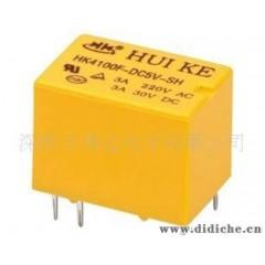 汇科5脚无极性继电器HK4101F-DC5V-SHG