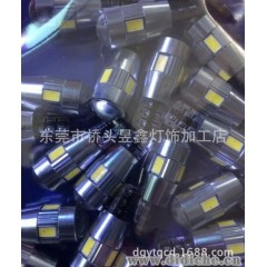 T10-6SMD 5630 解码canbus LED汽车灯