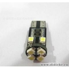 佳旺供应T10-8SMD-1210 解码led汽车灯 t10 汽车仪表灯 汽车灯