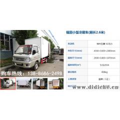 巴音6.2米冷藏车改装厂家