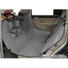 雷创RAY CHONG宠物车垫可坐一人宠物汽车安全带套装灰色