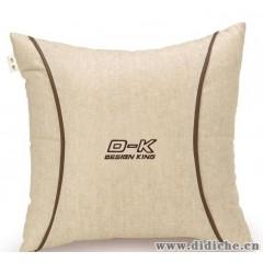 qiqi淇淇汽车用品|汽车抱枕|车用抱枕|天然亚麻车饰靠垫靠枕