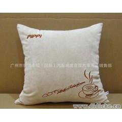 皮皮屋品牌|咖啡商务汽车用抱枕靠枕靠垫|单只装