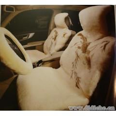 羊剪绒汽车座垫,澳大利亚样品座垫,真羊皮座套