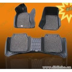 大包围汽车脚垫|超纤皮革3D立体大包围脚垫|||厂家直销-