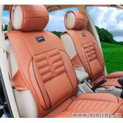 高档丹尼皮汽车坐垫夏季汽车座垫通用