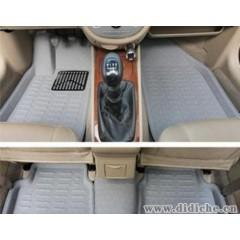 汽車腳墊標志206|207|408|307|308|508專車專用3D立體卡諾腳墊