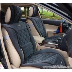 供应802菱形汽车坐垫,汽车座垫,布艺四季养生垫
