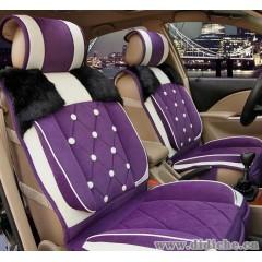 厂家直销/冬季新款植绒全包汽车坐垫/毛绒座垫/冬季精品汽车座垫
