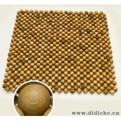 厂家特价供应枫香樟木木珠汽车座垫|沙发垫|办公室椅子垫