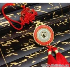 龍年紅瓷附阿富汗白玉汽車掛件|毛澤東主席頭像掛飾|車內用品