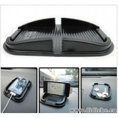 汽车新款盆式iphone防滑垫 车载手机支架 手机防滑垫终结者