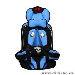 厂家批发汽车儿童安全座椅,车载宝宝背带坐垫1-4岁通用正向安装