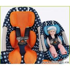 韩国原单三维透气网格汽车安全座椅垫|汽车座垫|儿童推车垫