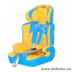 正品宝宝儿童汽车安全座椅 增高垫 车载车用坐椅坐垫 黄蓝