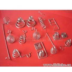 供应电池弹簧(图)各种压缩弹簧、扭力弹簧、拉力弹簧,电池弹簧等