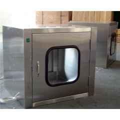 保定张家口食品化验室传递窗价格微生物检测室不锈钢传递窗