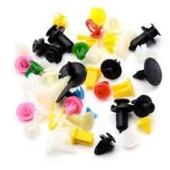 现货供应各种优质汽车塑料卡扣 丰田花杠钉 六角螺丝尼龙卡扣