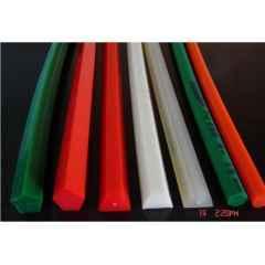 玻璃钢化炉无缝圆带,8-10mm绿色粗面无接缝圆带