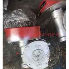 链条蜗轮箱QDX3-6煤化工阀门带链轮蝶阀减速机